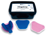 Light cure tray  Megatray, angielski
